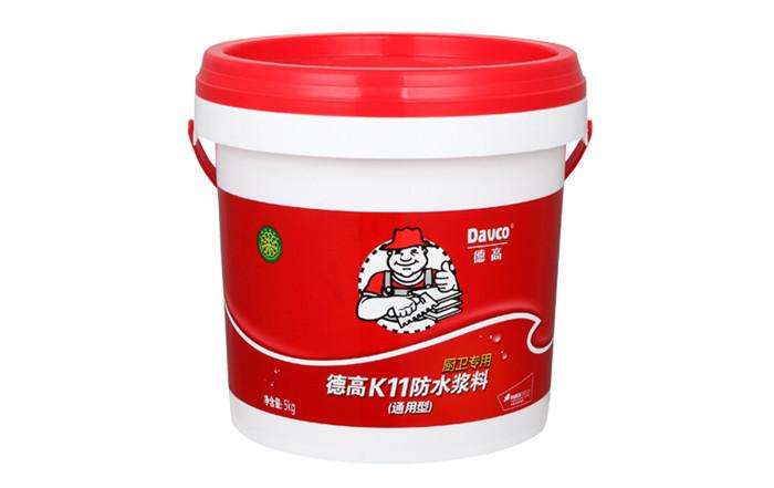 德高K11防水浆料(通用型)_16.9kg