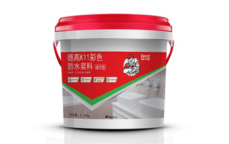 德高K11彩色防水浆料(通用性III)5.44kg